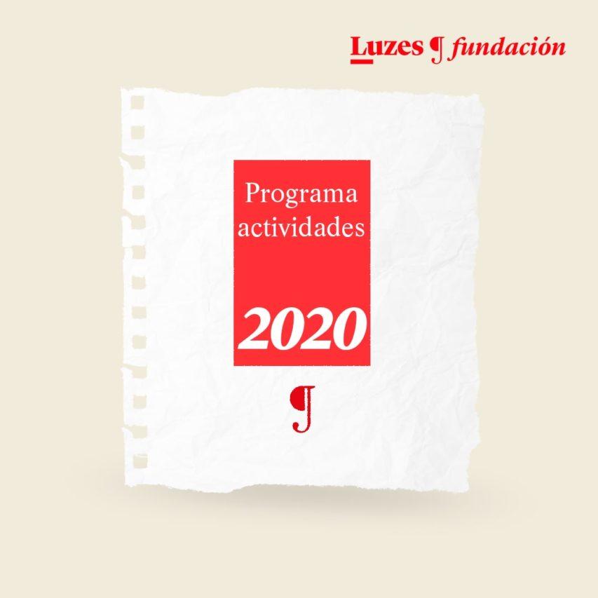 Programa de actividades 2020