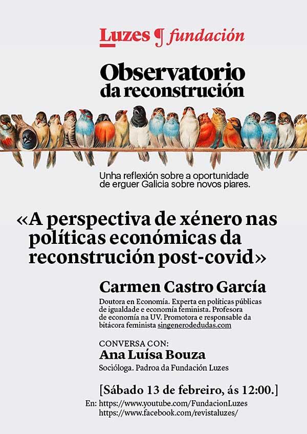 A perspectiva de xénero nas políticas económicas da reconstrución post-covid