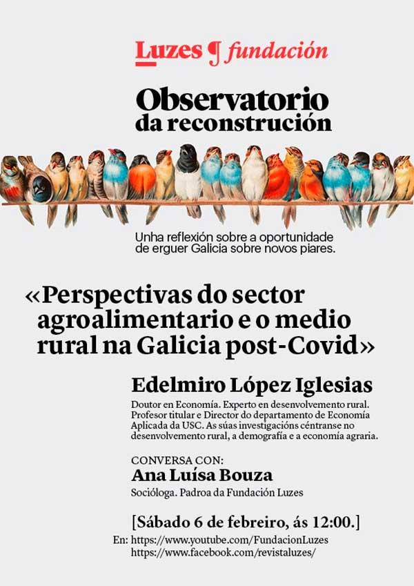 Perspectiva do sector agroalimentario e o medio rural na Galicia post-Covid