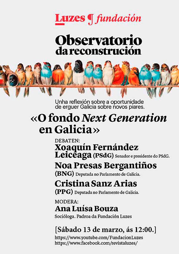 O fondo Next Generation en Galicia