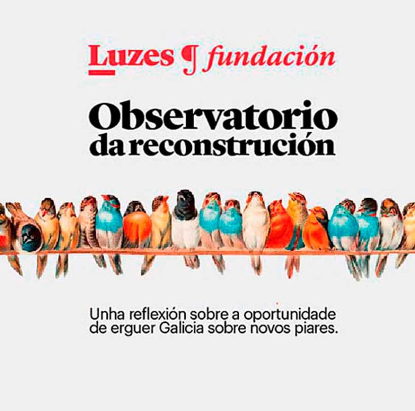 Presentación do Observatorio da reconstrucción da Fundación Luzes